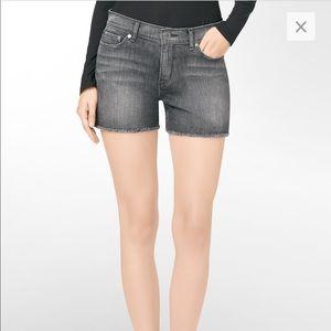 Calvin Klein cut off shorts